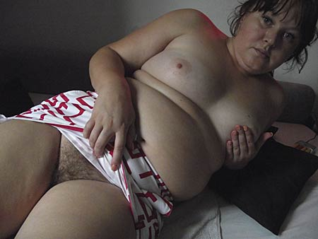 Fettes Girl dicke Brüste
